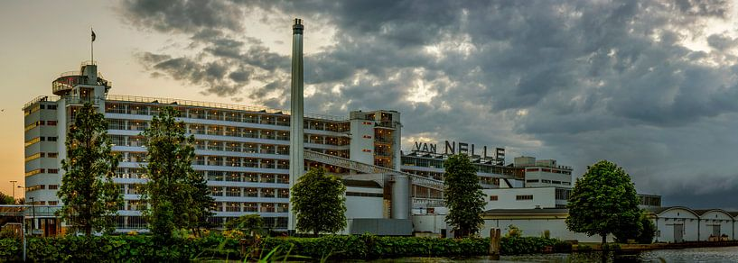 Panorama Van Nelle Fabrik Rotterdam von Fred Leeflang