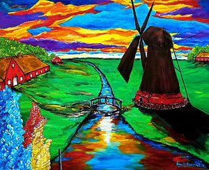 Mühle in Ostfriesland von