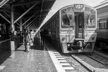 Thais treinstation  von Marlin van der Veen