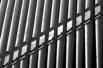 Orgelpijpen zwart-wit von PF Snel