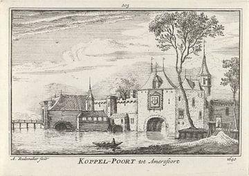 Blick auf das Koppelpoort in Amersfoort, 1640, Abraham Rademaker