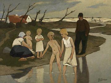 Badende Kinder, Eugène Laermans von