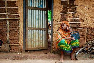 Radio luisteren in Zanzibar