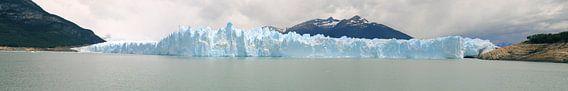 Sideview of Perito Moreno