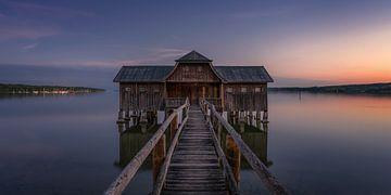 Bootshaus am Ammersee von Toon van den Einde