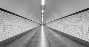 De Sint Annatunnel in Antwerpen