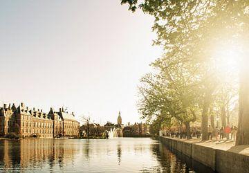 Hofvijver Den Haag von Corina de Kiviet