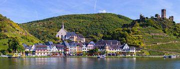Panorama Beilstein, Rheinland-Pfalz, Deutschland von Henk Meijer Photography