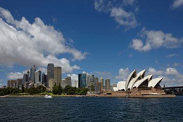 Sydney skyline van Tjeerd Kruse