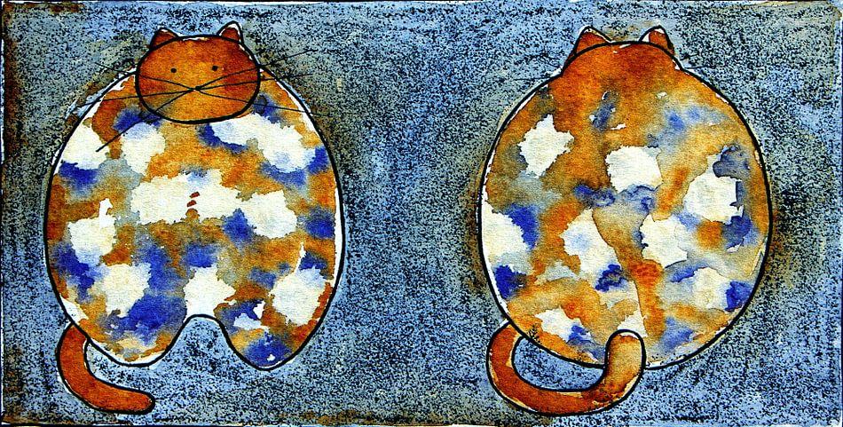 TURTLE CAT van Ans de Bie
