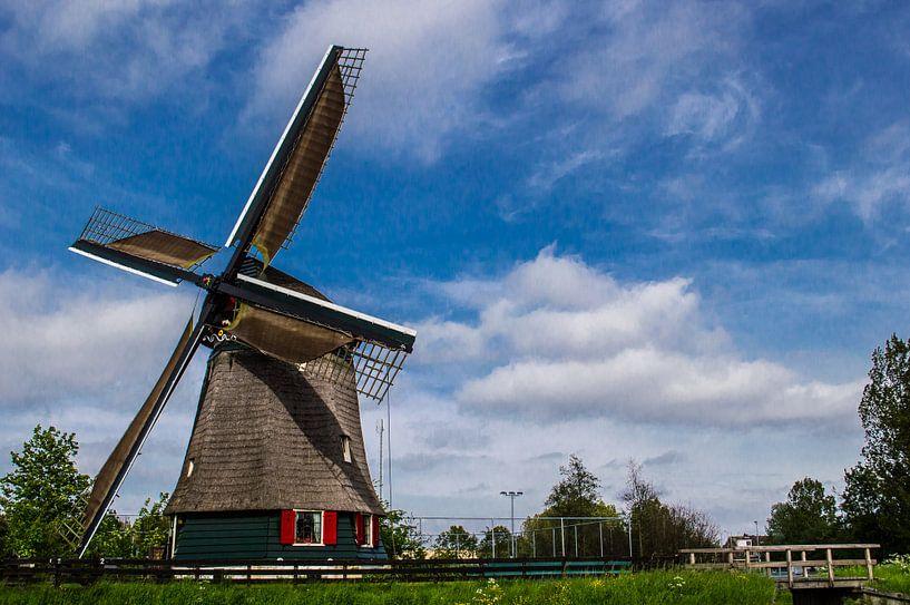 Windmolen 1 van Brian Morgan