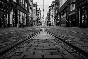 Leidsestraat (3 schwarz und weiß) von By Odessa DC