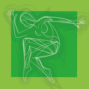 Bewegen is vrijheid en emotie (Groen) van
