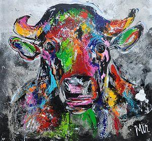Résumé sur les vaches sur Kunstenares Mir Mirthe Kolkman van der Klip