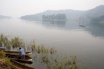 Stilte op het meer sur Jim van Iterson