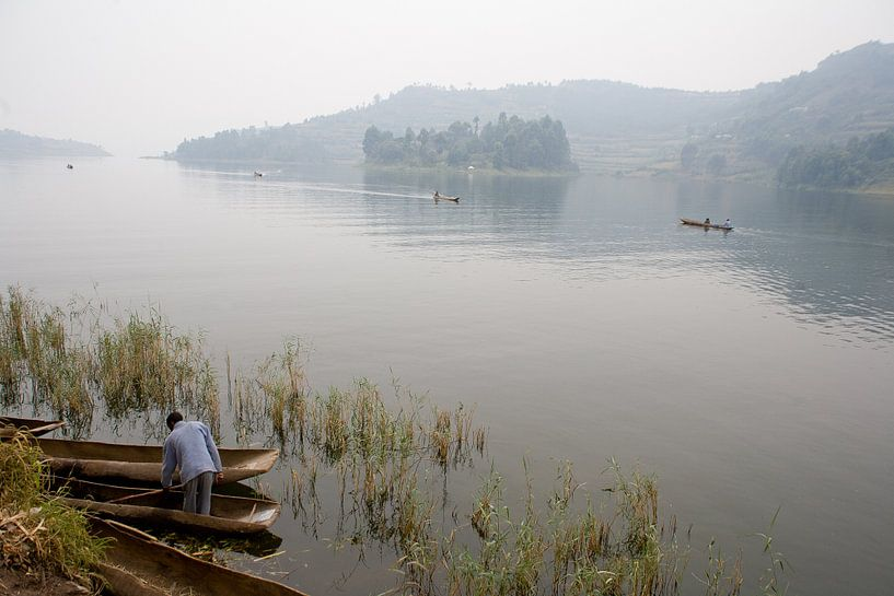Stilte op het meer van Jim van Iterson
