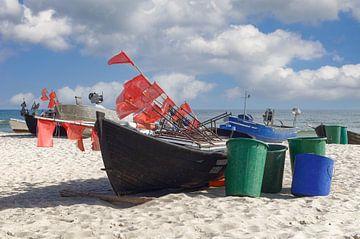 am Strand von Baabe von Peter Eckert