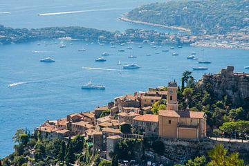 Eze in Frankrijk, dorpje aan de Côte d'Azur van Rosanne Langenberg