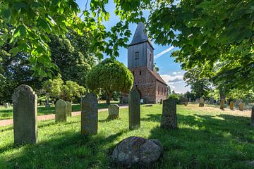 Gotische dorpskerk Groß Zicker, Rügen van GH Foto & Artdesign
