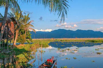 Myanmar: Inle meer (Pan Nan) van Maarten Verhees