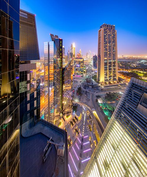 Dubai International Financial Center van Rene Siebring