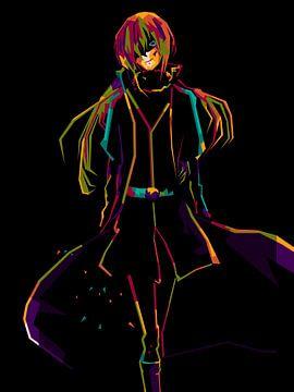 Anime Rimuru WPAP van miru arts