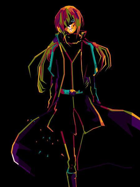 Anime Rimuru WPAP von miru arts