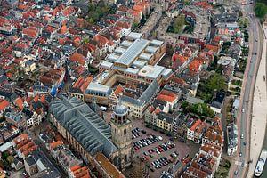 Luchtfoto Deventer Stadskantoor