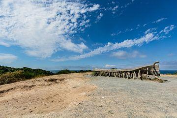 Die wohl berühmteste Bank auf der Insel Hiddensee von GH Foto & Artdesign