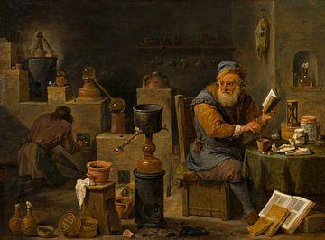 Malerei, Der Alchemist von Atelier Liesjes