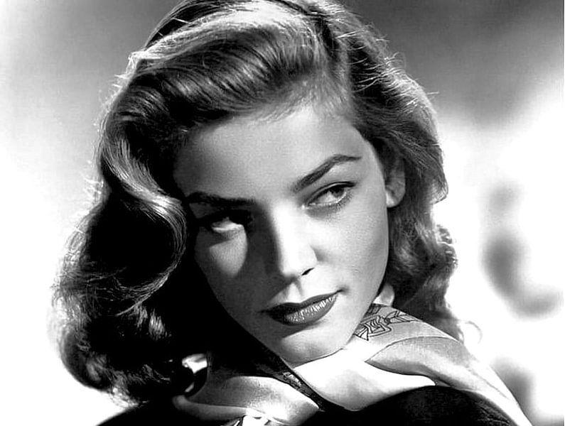 Lauren Bacall. van Brian Morgan