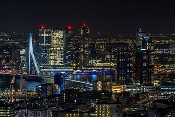 La ligne d'horizon de Rotterdam sur MS Fotografie | Marc van der Stelt