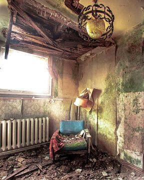 Vervallen Hotelkamer van Olivier Van Cauwelaert