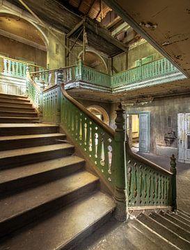 Treppenhaus Urbex von Olivier Van Cauwelaert