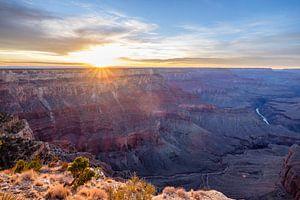 Zonsondergang Grand Canyon, USA