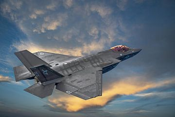 F-35 Lightning II, USA van Gert Hilbink
