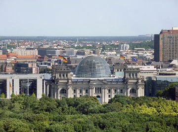 Reichstag in Berlijn van Achim Prill