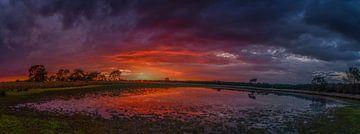 sunset  van Edwin Hoek