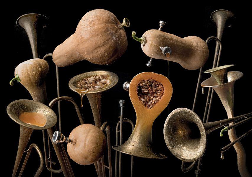 Butternut trumpet van Olaf Bruhn