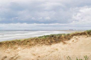 Der Strand in Zandvoort von Wendy Tellier - Vastenhouw