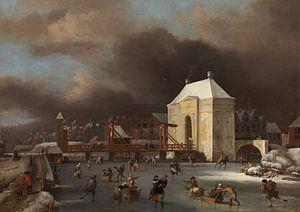 """Durch das """"Heiligewegspoort""""  in Amsterdam, Johan van Kessel"""
