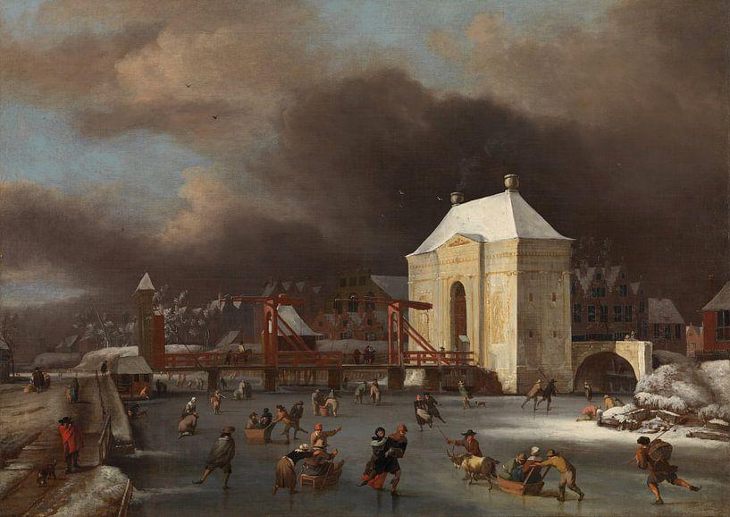 "Durch das ""Heiligewegspoort""  in Amsterdam, Johan van Kessel von Meesterlijcke Meesters"