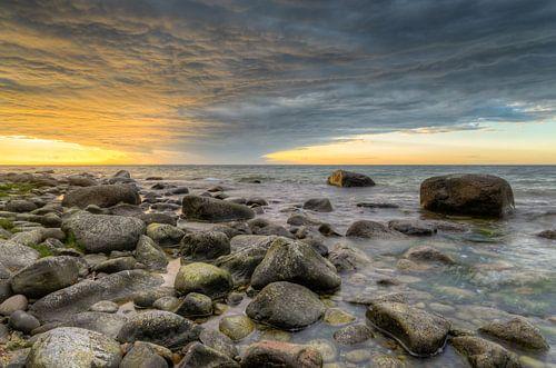 Sunset on Rügen van