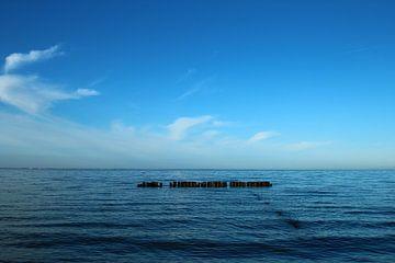 Blaue Ostsee 1 von Heike Hultsch