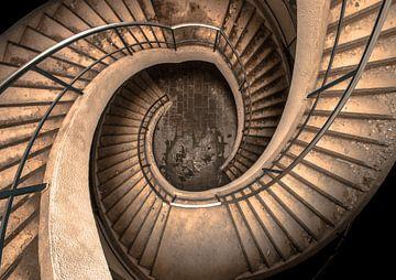 Treppe mit doppelter Schraube von Olivier Photography