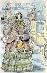Mode 1852, Mode in het negentiende-eeuwse Parijs, Henri Boutet, (1851 1919)