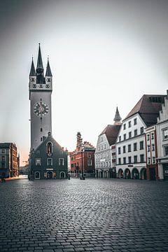 Stad Straubing Beieren Neder-Beieren van Thilo Wagner