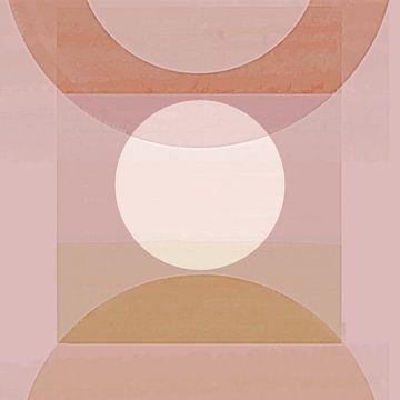 Abstrakte Pastell Formen von Jacob von Sternberg