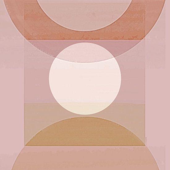 Abstracte Pastelvormen