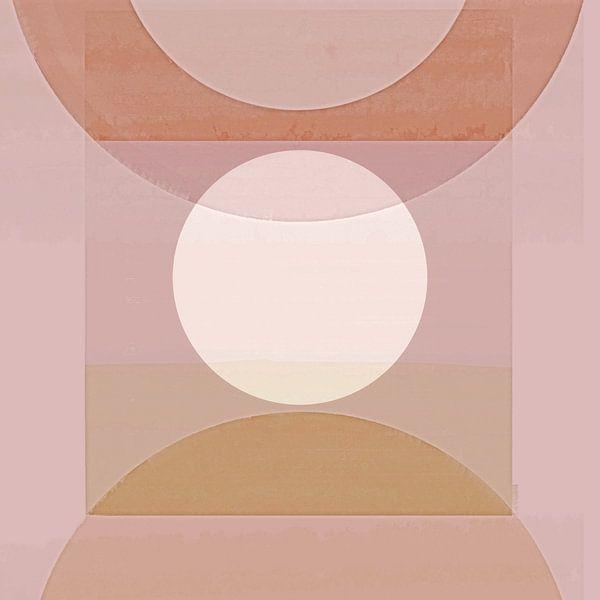 Abstracte Pastelvormen van Jacob von Sternberg